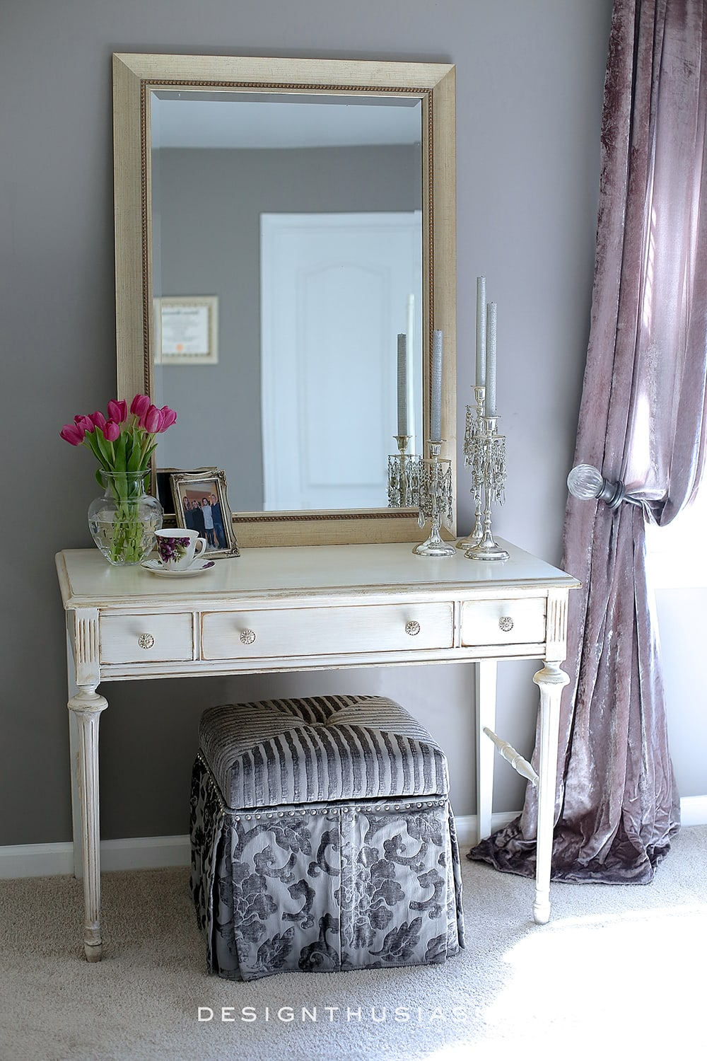 Grey Bedroom Ideas Mixing Lilac And Grey In An Updated