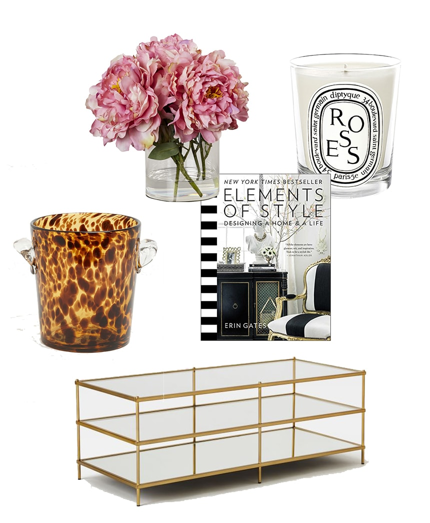Simple Decorating: Coffee Table Styling with a Little Edgy Flair