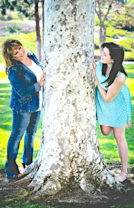 Brittany-and-I-looking-around-tree-194x300