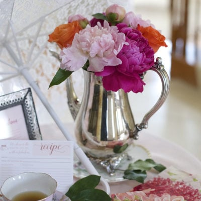 May Flowers for a Bridal Shower