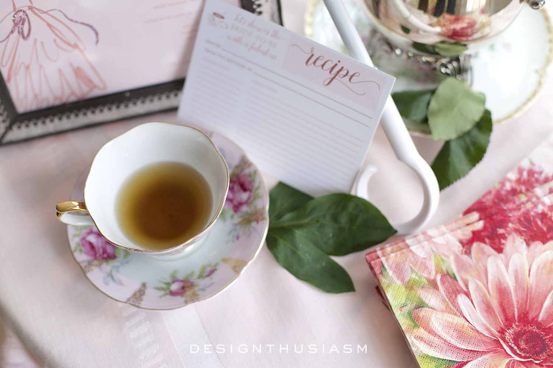 May Flowers for a Bridal Shower   Designthusiasm.com