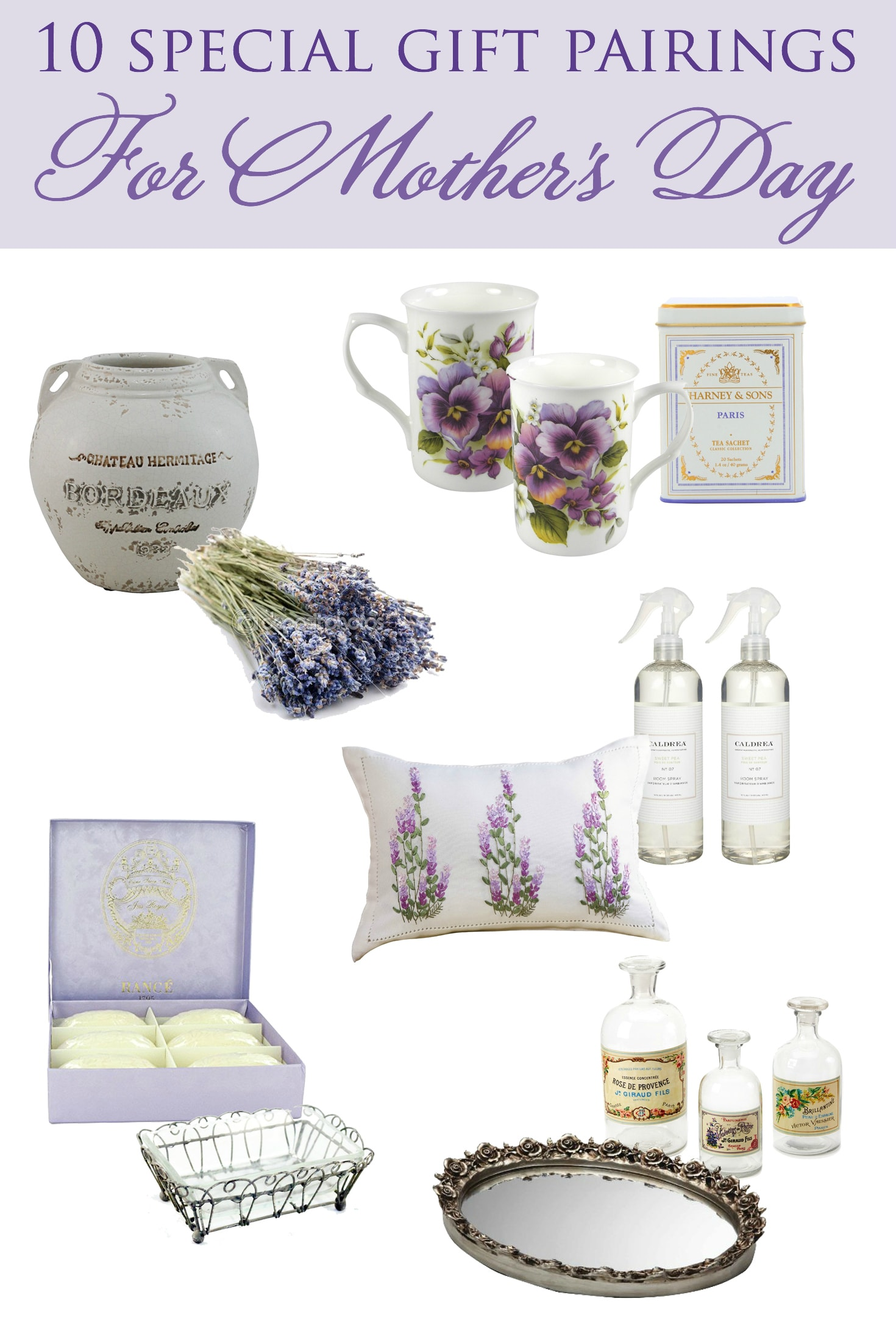 10 Special Mother's Day Gifts Pairings | Designthusiasm.com