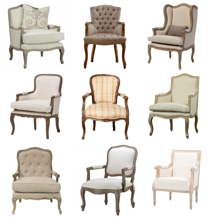Affordable French Country Chairs