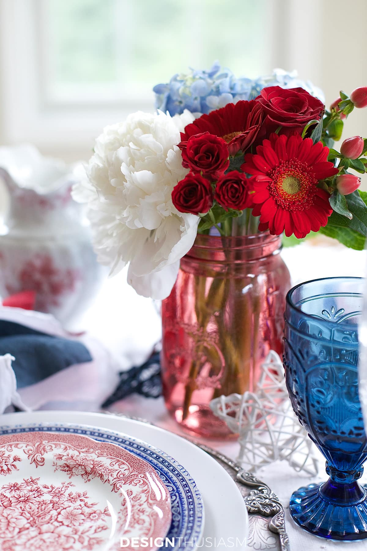july 4th brunch table