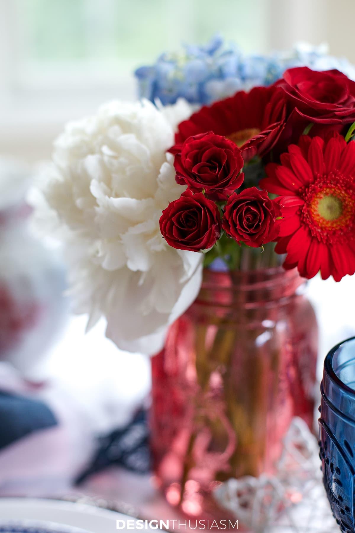 july 4th brunch floral