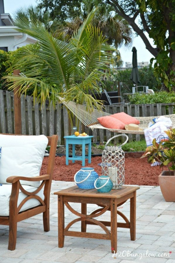 DIY Backyard Makeover by H2O Bungalow