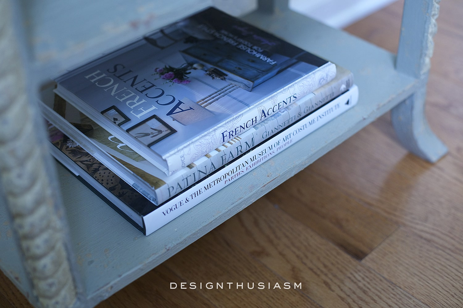 French Country Accent Table | Designthusiasm.com