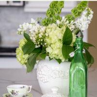 Spring Green Flowers