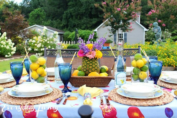 Alfredo Tablescape Blog Hop | from Everyday Living