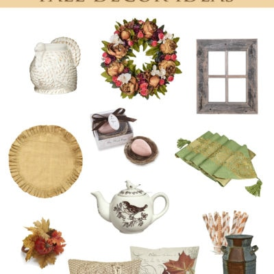 12 Country French Fall Decor Ideas