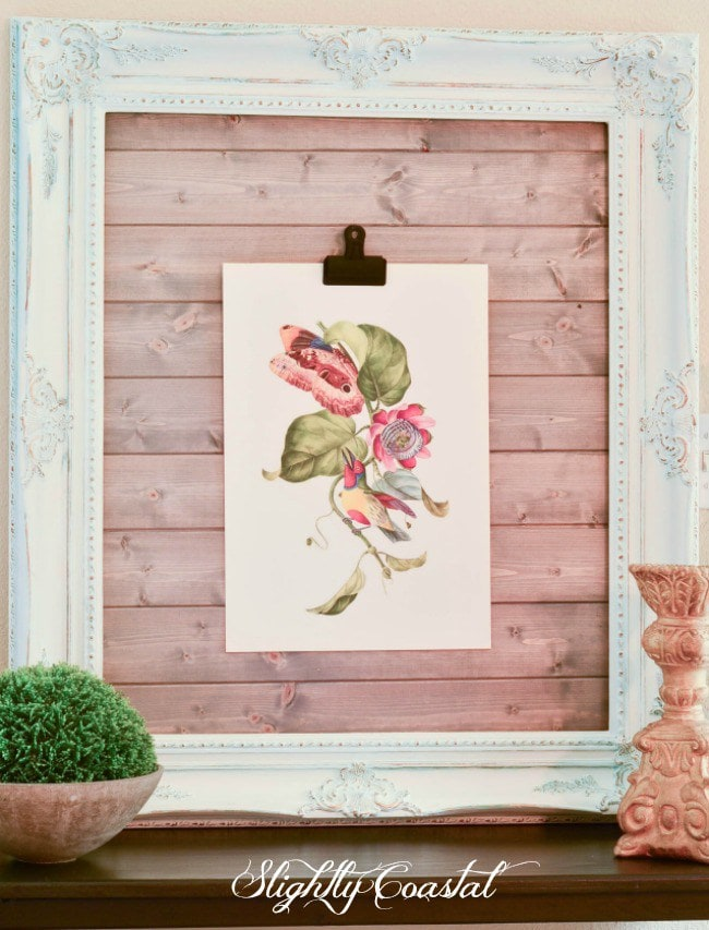 French Country Painted Art Display | from Slightly Coastal