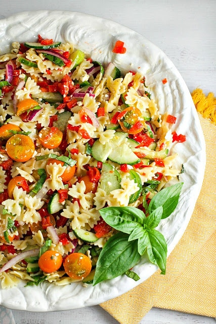 Summer Pasta Salad | from A Dish Of Daily Life