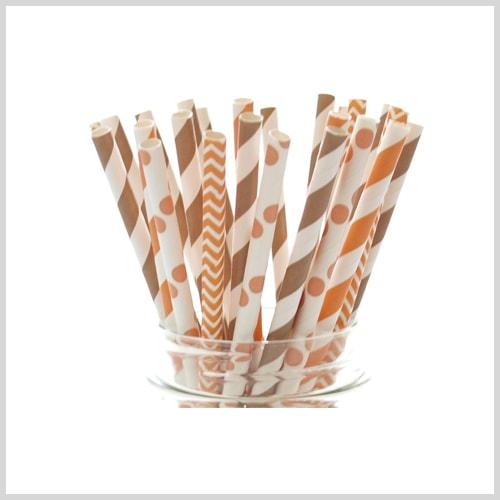 fall straws