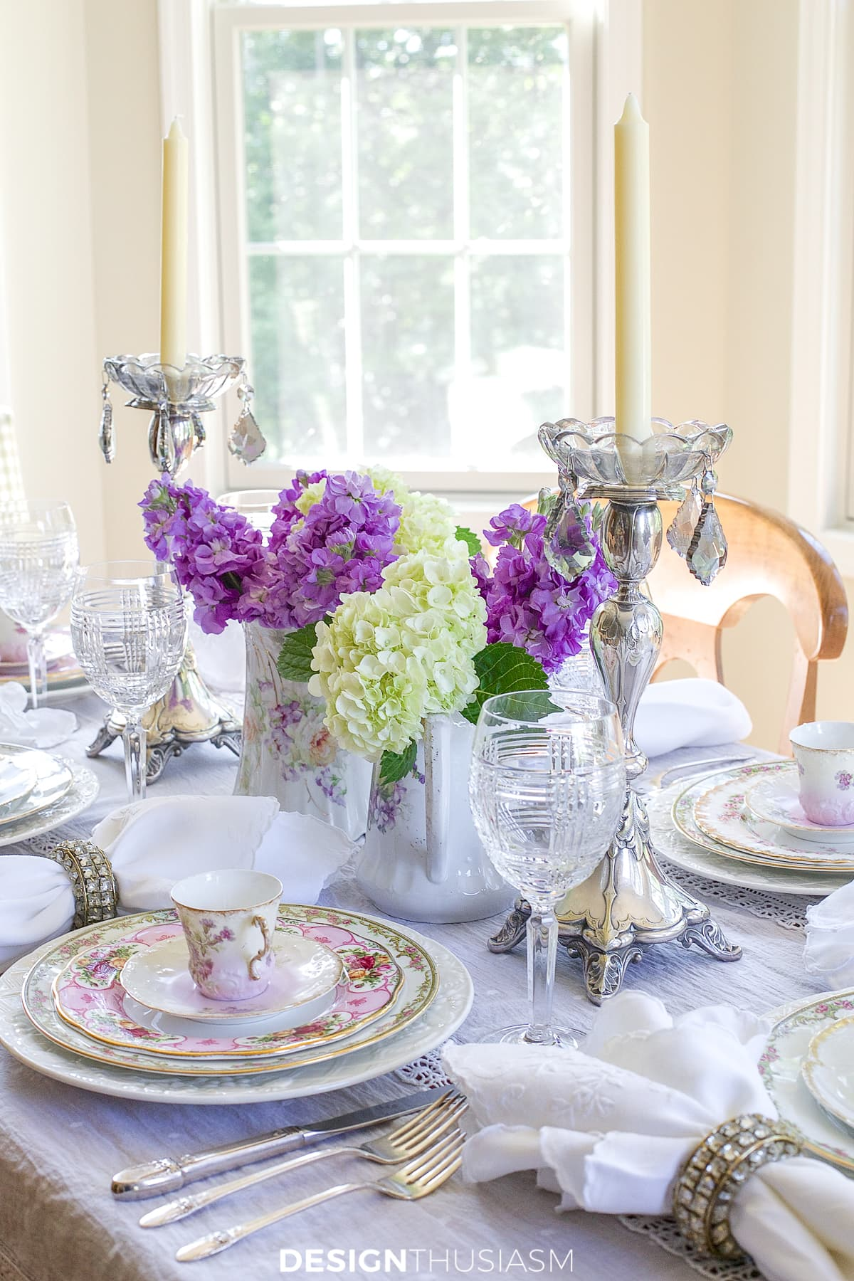 Antique Dishes How To Set A Beautiful Table With A Mix Of Vintage China