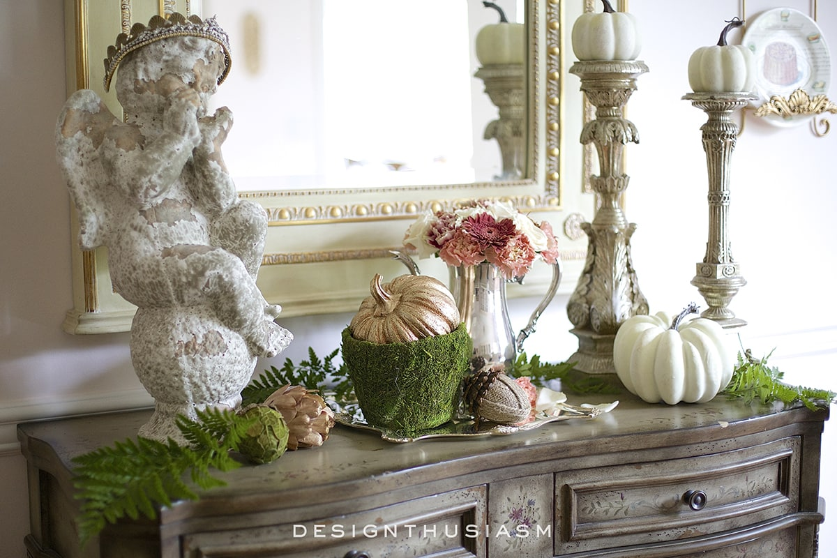 Vignette Design A Kitchen Tour: 5 Tips For Creating A Fall Vignette In The Dining Room