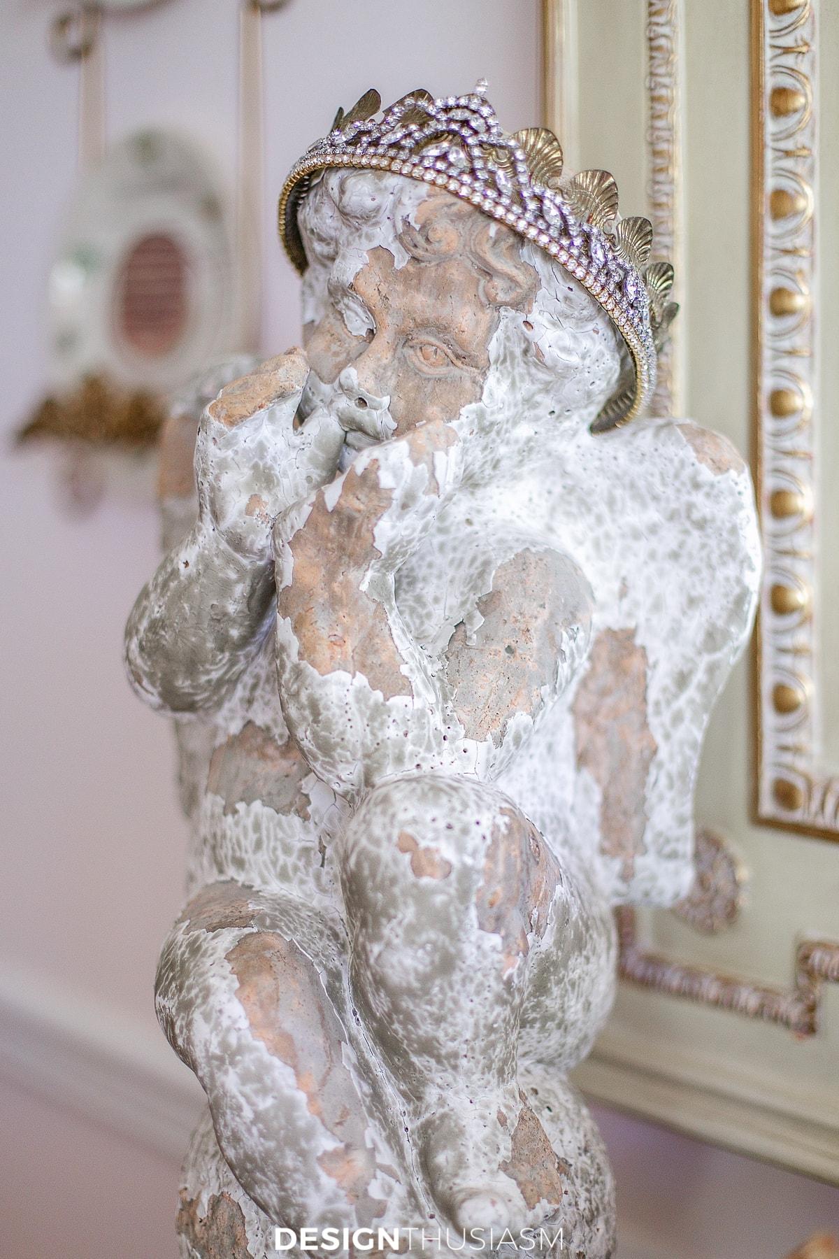 angel garden statue