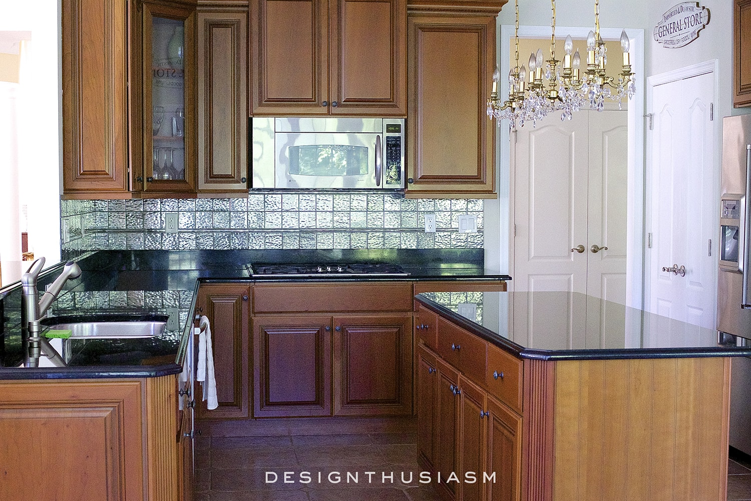 Kitchen Renovation Backsplash calcatta gold marble backsplash | orc kitchen renovation