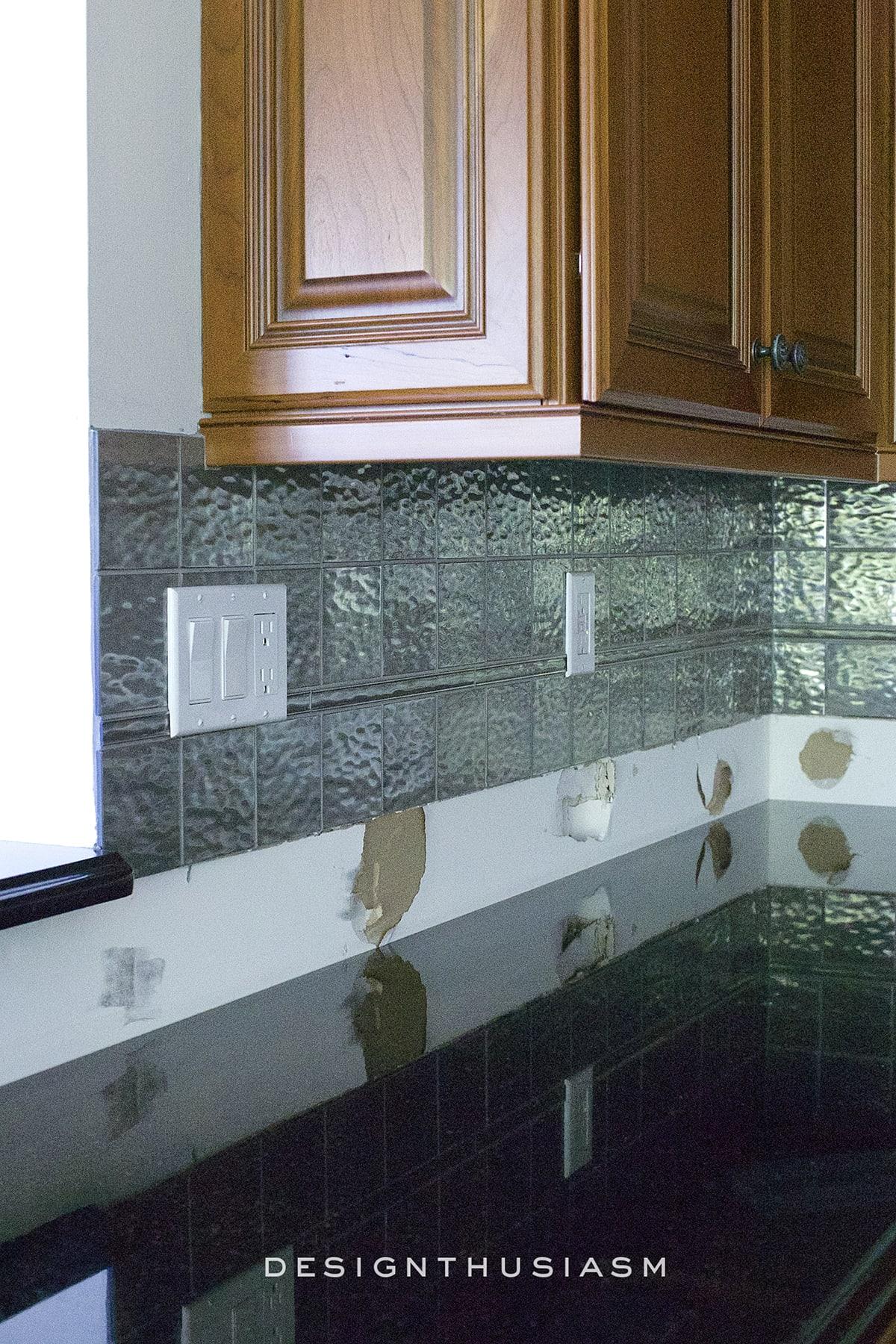 - Calcatta Gold Marble Backsplash ORC Kitchen Renovation