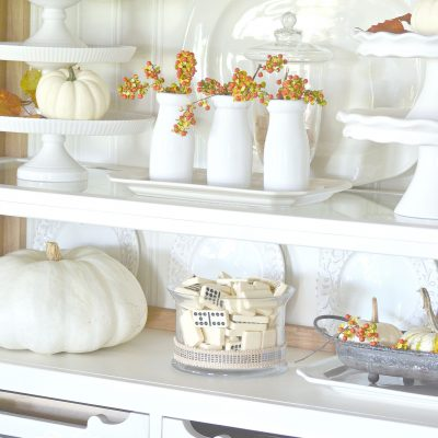 Home Style Saturday | Fall Mantels, Tables and Vignettes