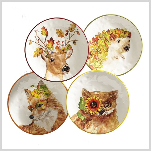 15 Shopping Ideas for Thanksgiving Plates | Designthusiasm.com