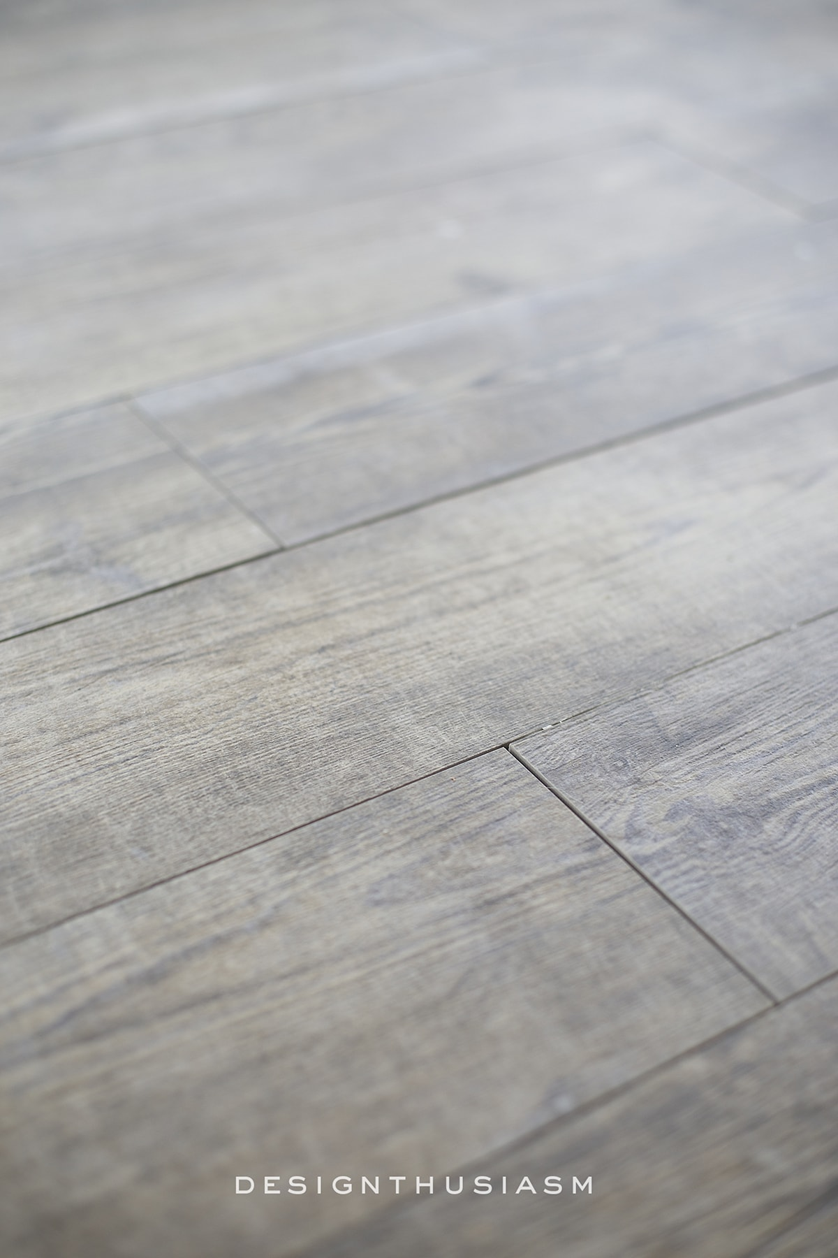 Faux Wood Tile for the New Kitchen Floor | Designthusiasm.com