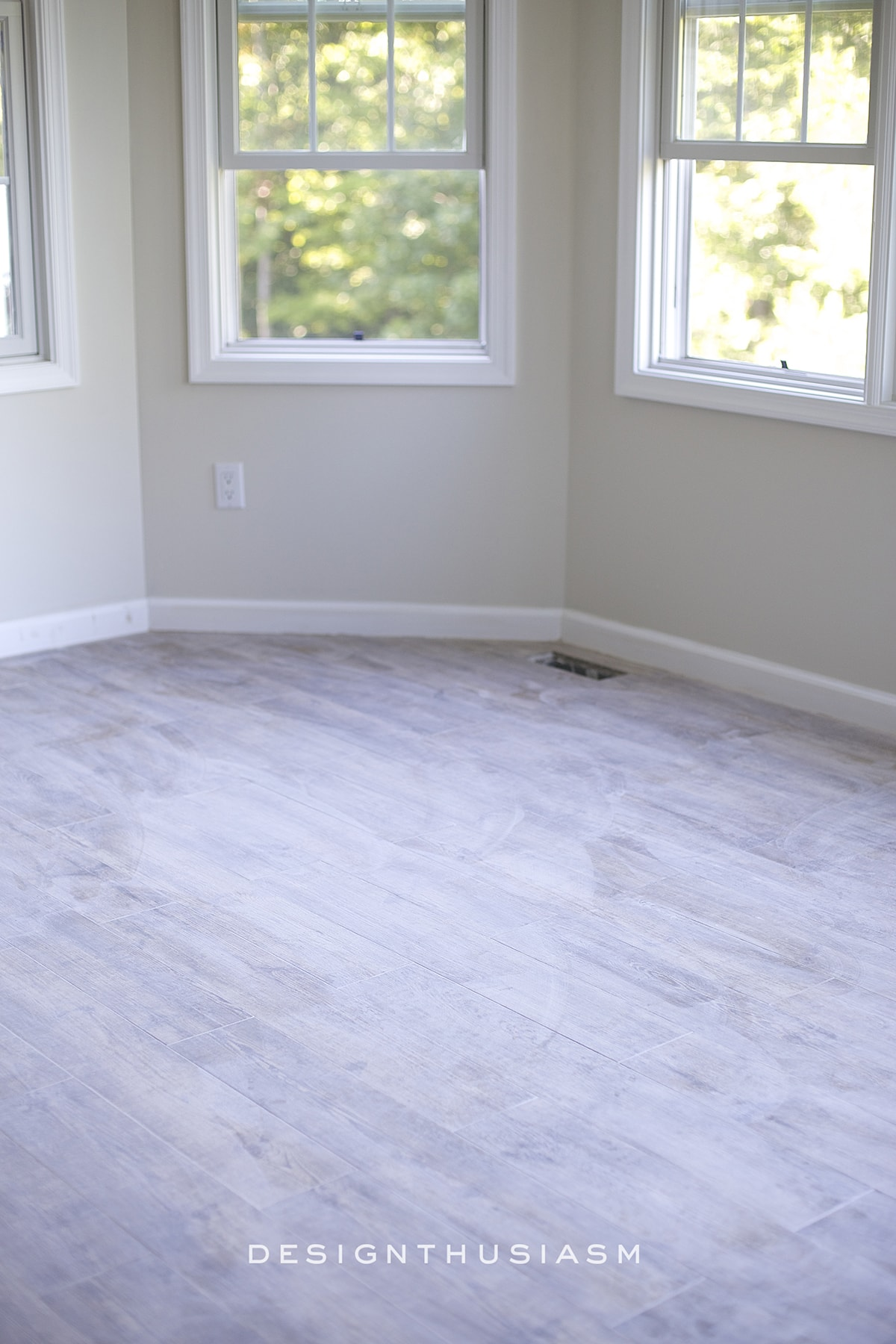 Faux Wood Flooring Grey And White Laminate Hardwood