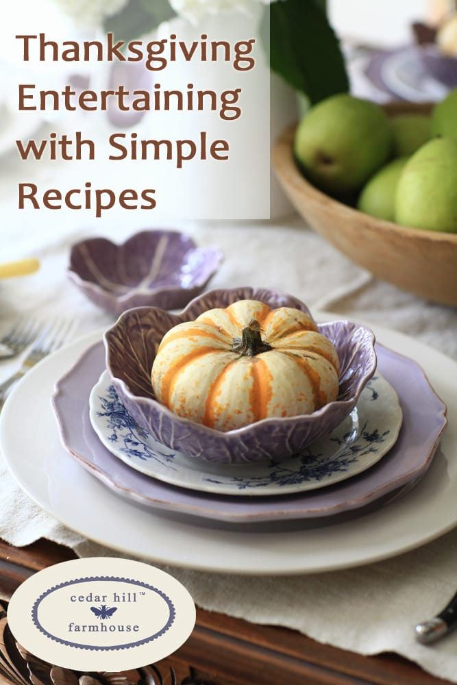 thanksgiving-entertaining-with-simple-recipes