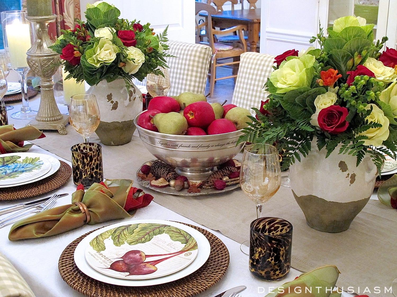 Harvest Thanksgiving Table   Designthusiasm.com