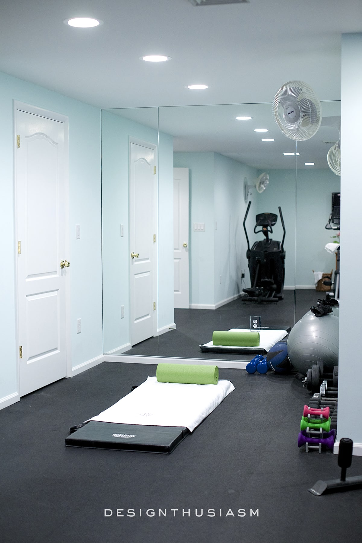 10 Ways to Add Style and Function to Your Home Gym Design | Designthusiasm.com