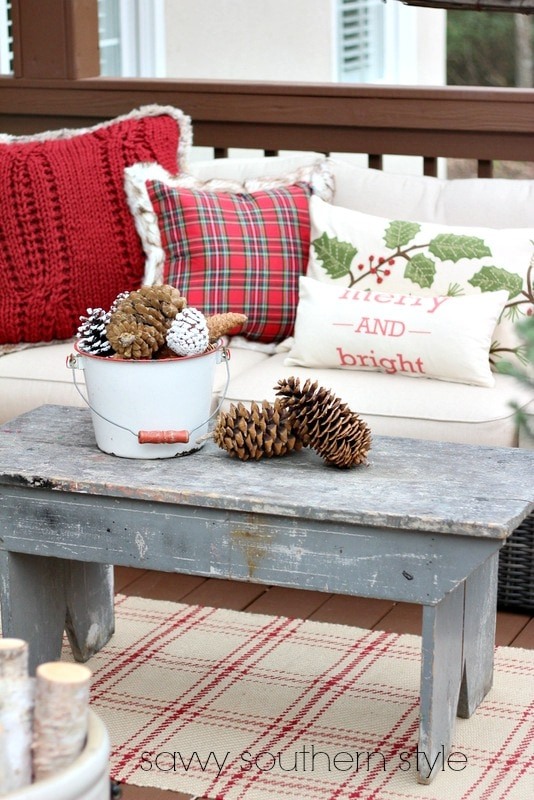 Home style saturdays it 39 s beginning to look like christmas Southern home decor on pinterest