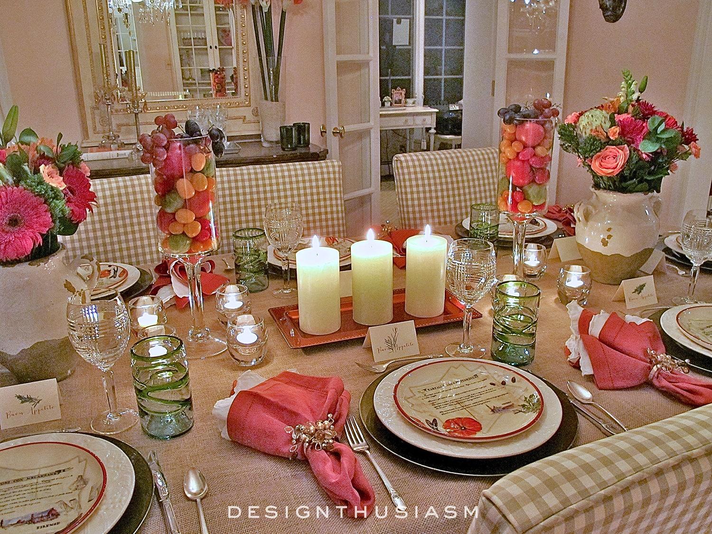 Tuscan Thanksgiving   Designthusiasm.com