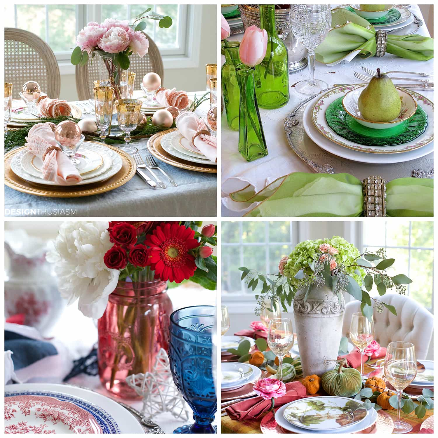 2016 Tablescapes-Designthusiasm.com