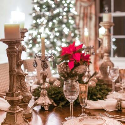Christmas Night Lights: Holiday Homes at Night Blog Tour