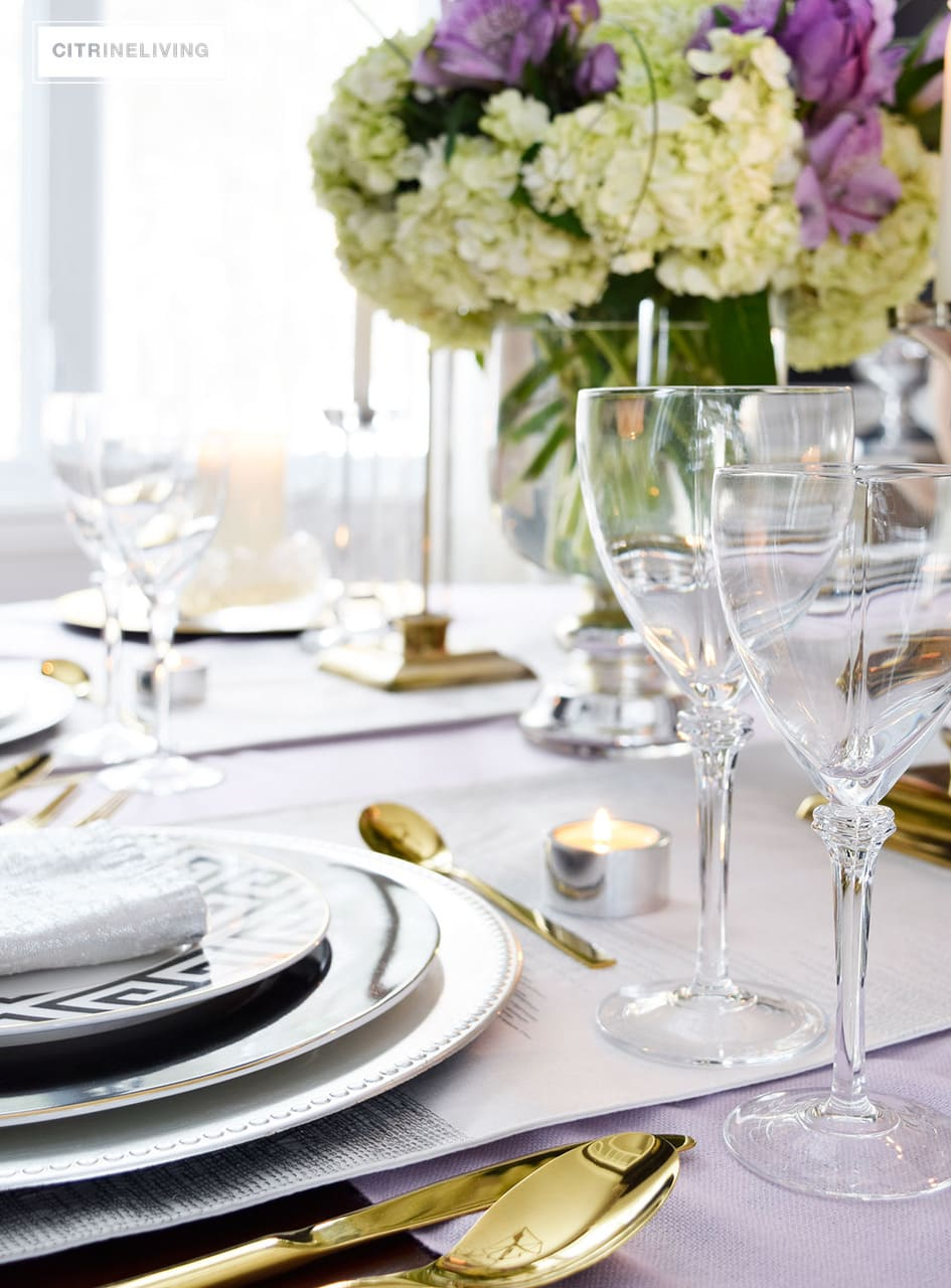 CitrineLiving-crystal-stemware-gold-flatware-tablescape