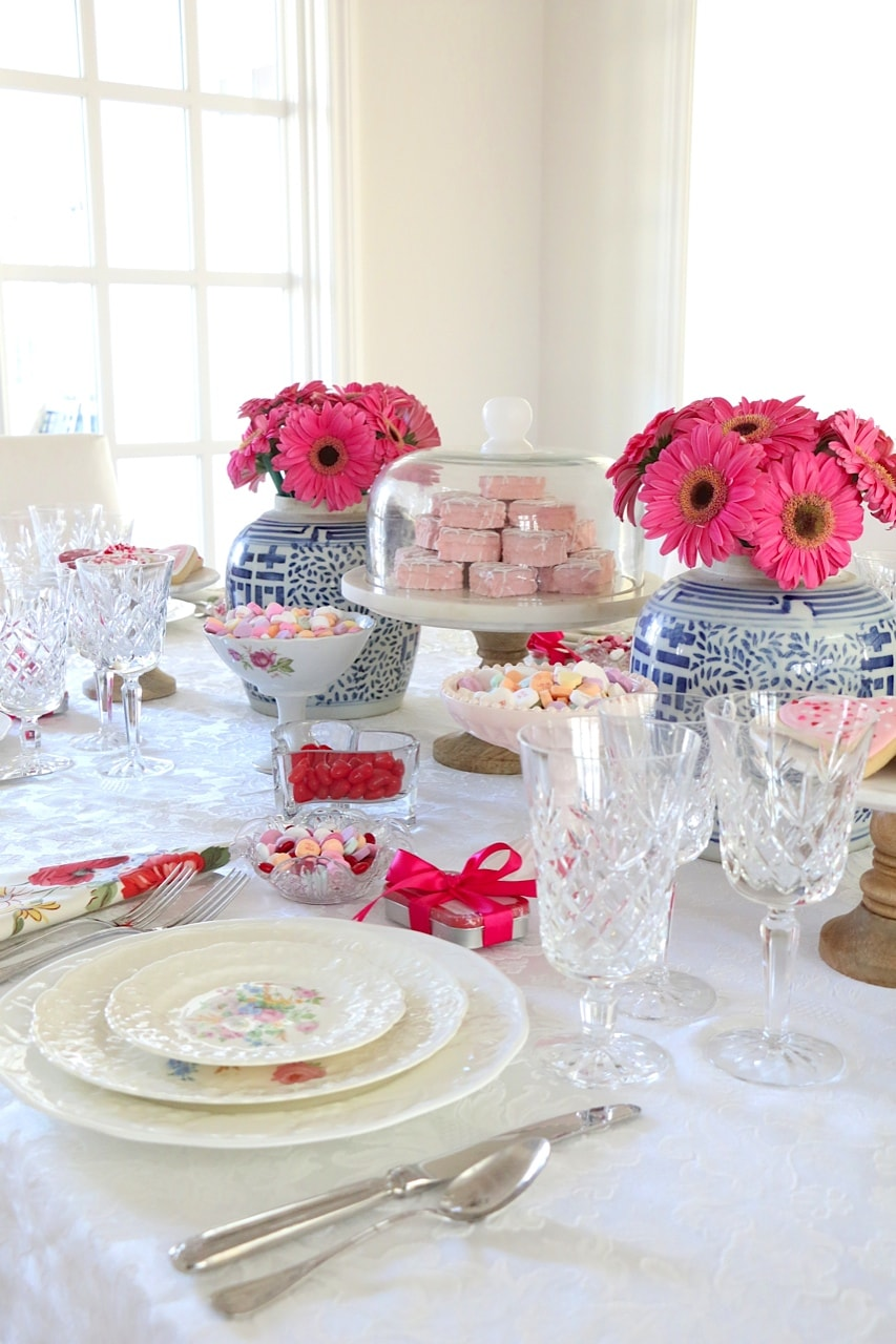 Eleven Gables Valentine's Table