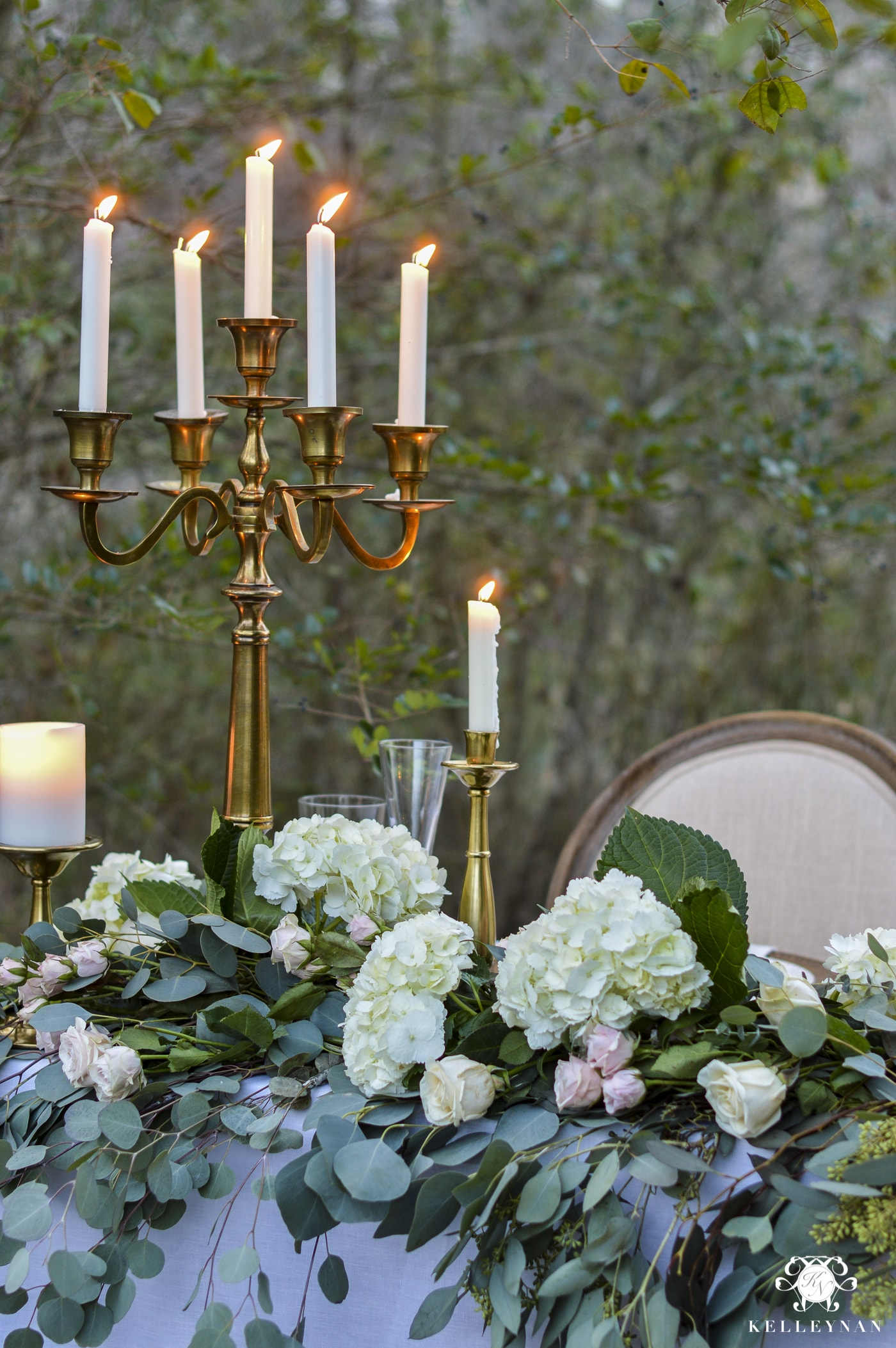 Kelley Nan | Sweetheart Table for Wedding or Valentine's Day Outdoors