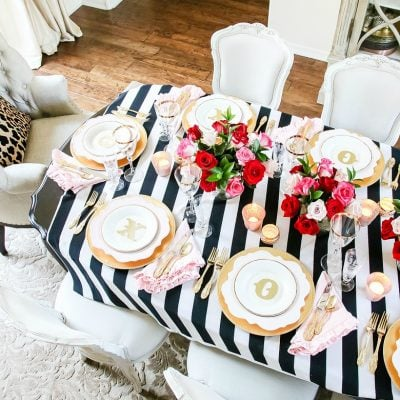 Styled + Set Blog Tour: Valentine's Day Entertaining Day 3
