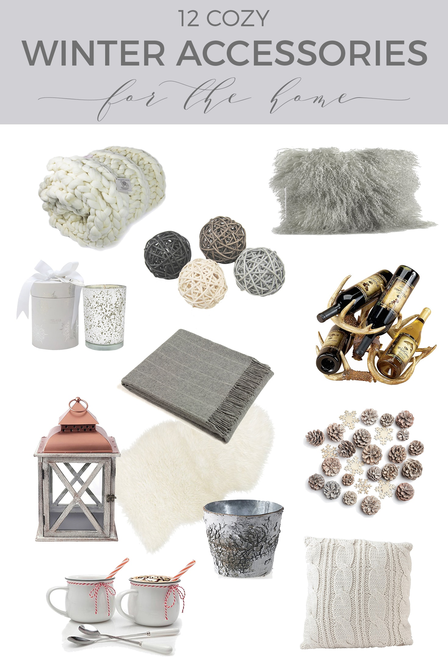 12 Winter Accessories for a Cozy Home - Designthusiasm.com