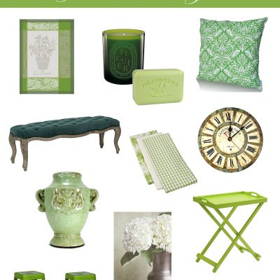 "Green Decor: Decorating with Pantone's Color of the Year ""Greenery"""