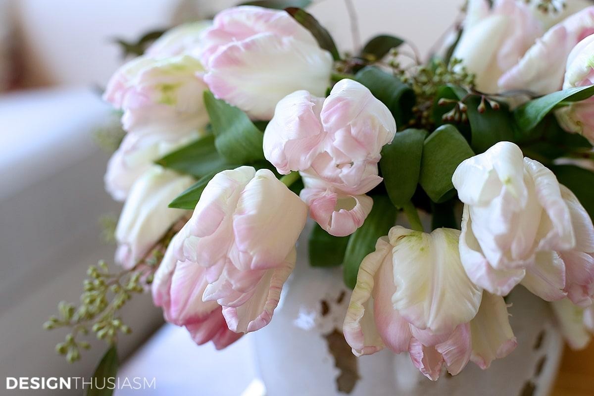 Tulips | Decorating consultation | Designthusiasm.com
