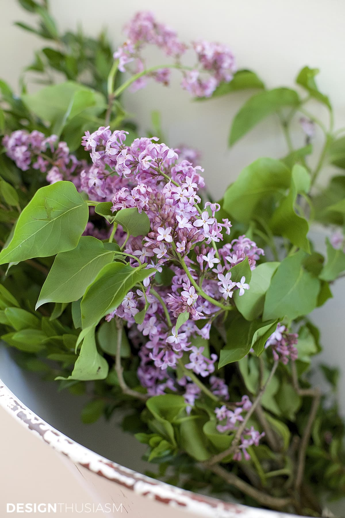 Lilacs | Decorating consultation | Designthusiasm.com