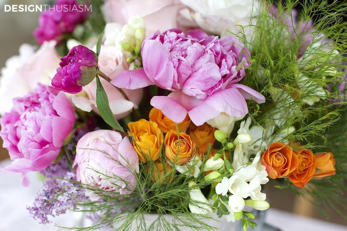 Bouquet | Decorating consultation | Designthusiasm.com