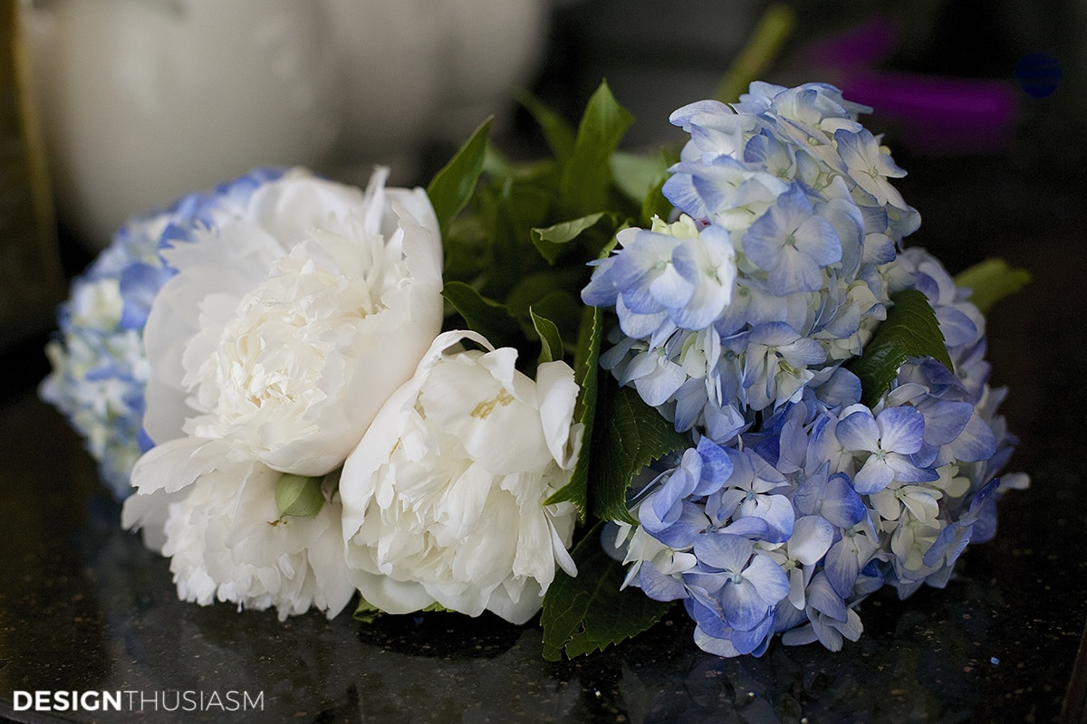 Hydrangea | Decorating consultation | Designthusiasm.com