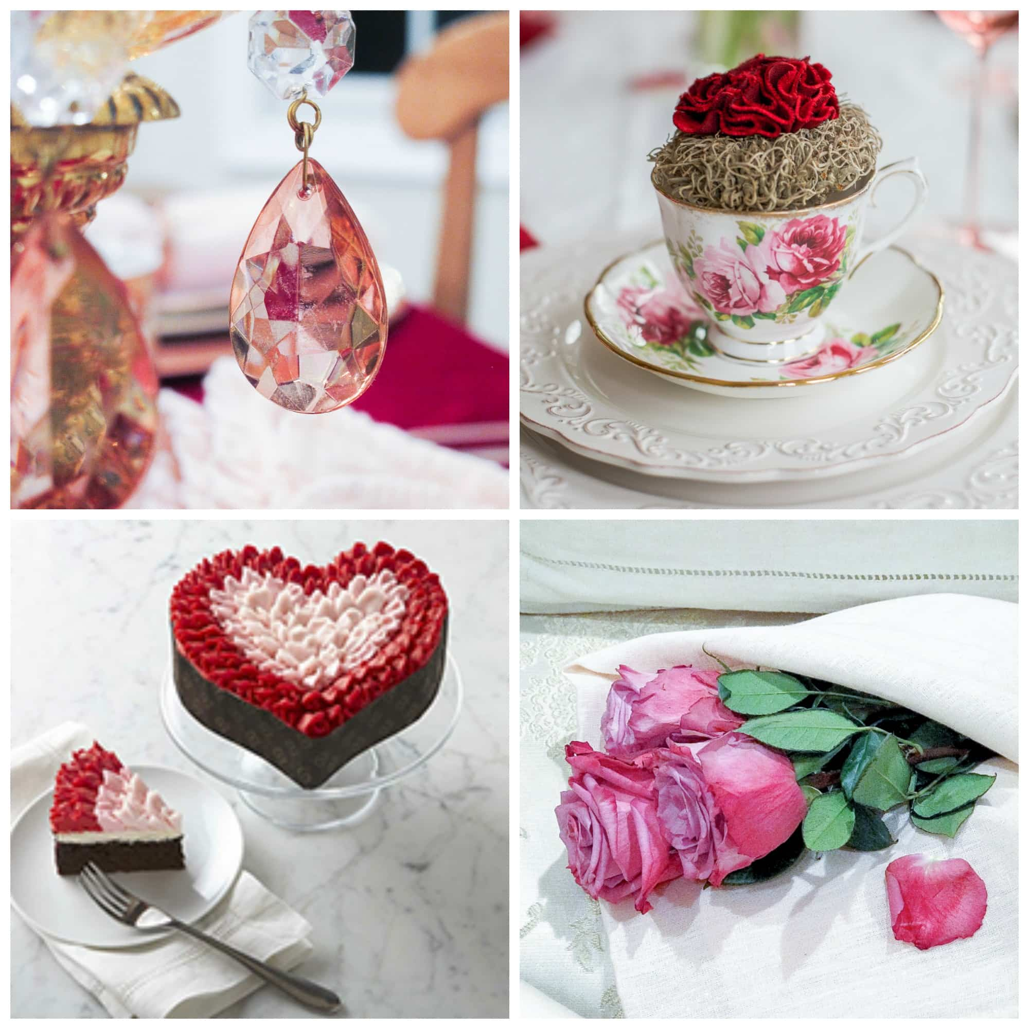 Valentines Day Decor Inspiration | Designthusiasm.com