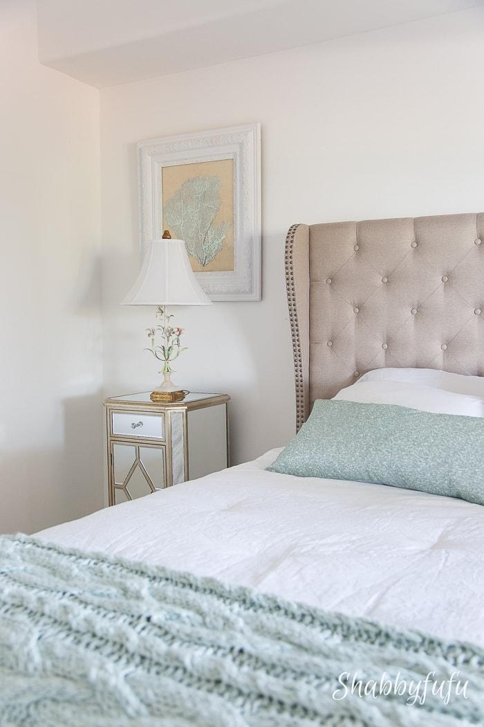 Carpet One Guest Room Reveal Shabbyfufu Beach Home