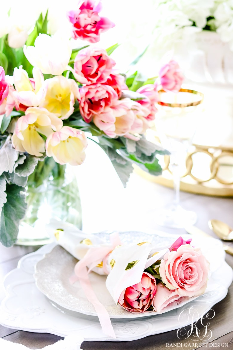 Randi Garett | spring entertaining ideas