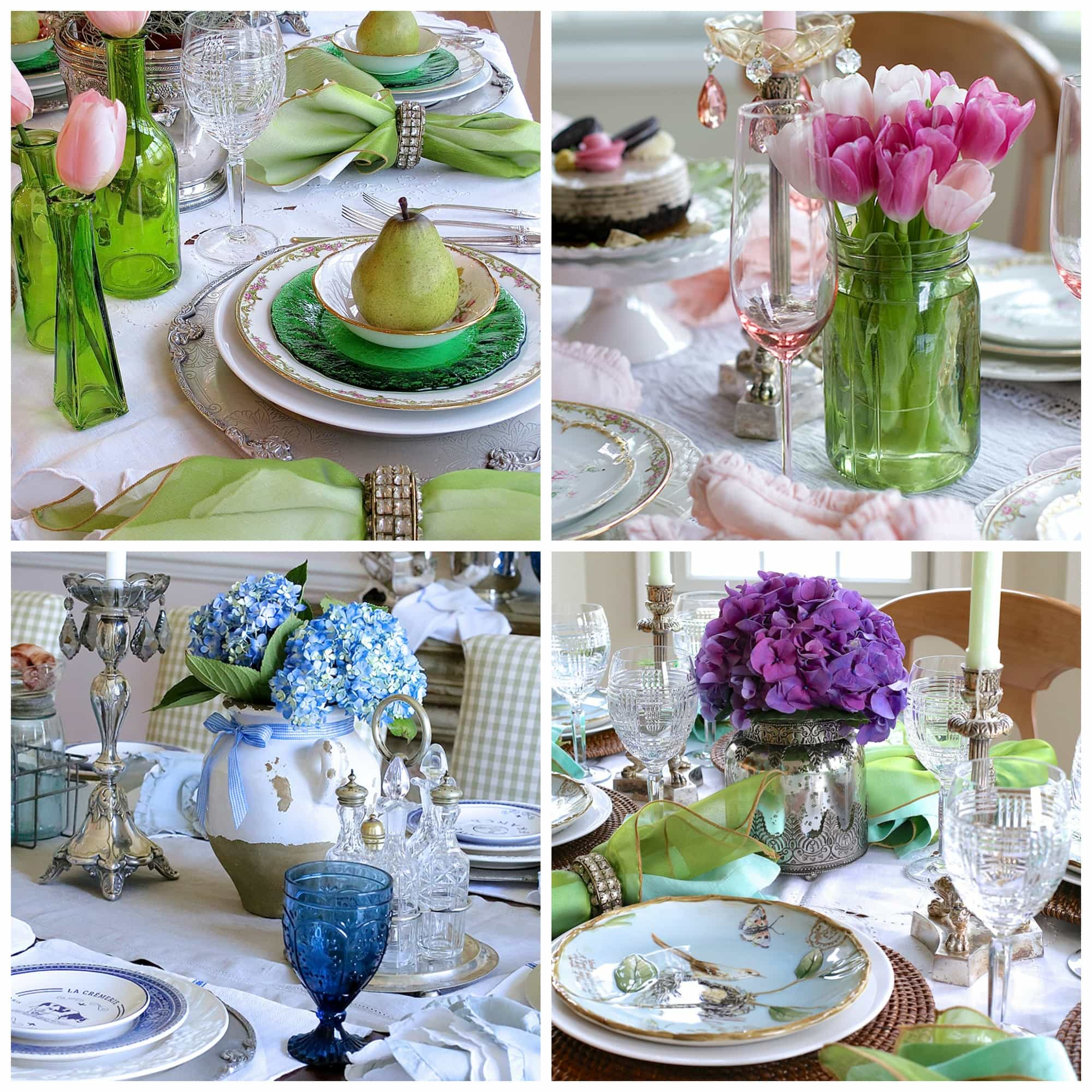 I Thought It Would Be Fun To Take A Look At Some Of My Favorite Tables From  Not That Long Ago, Beginning With This Emerald Green Setting That Is  Perfect For ...