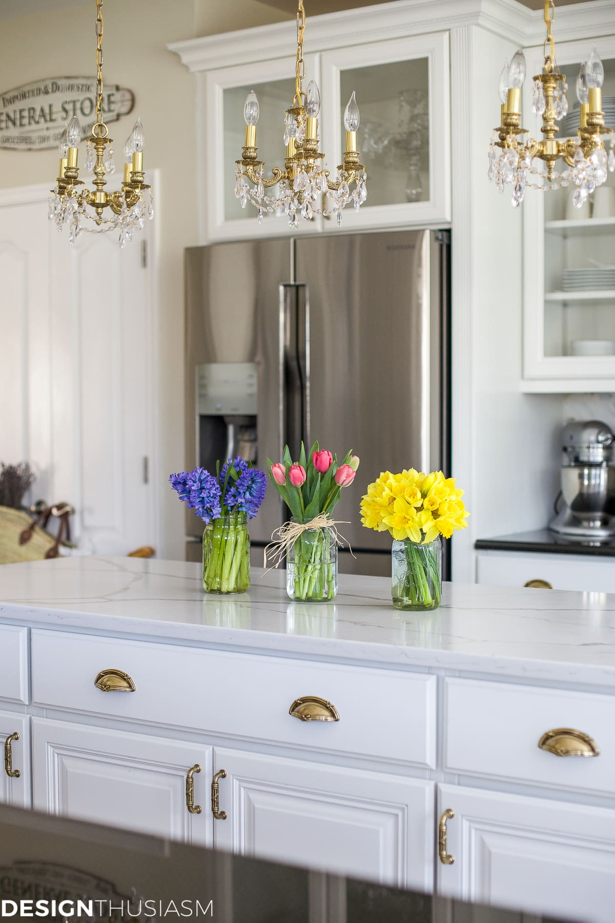 Decorating My Apartment Living Room: SPRING FARMHOUSE KITCHEN DETAILS