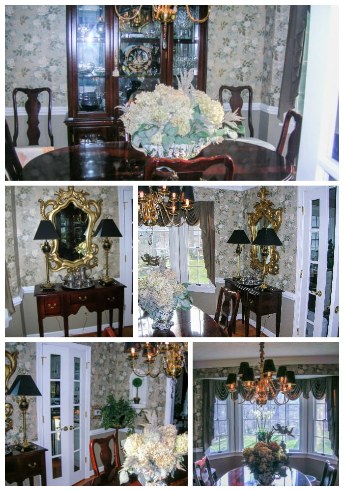 Reader design consultation | formal dining room before pics