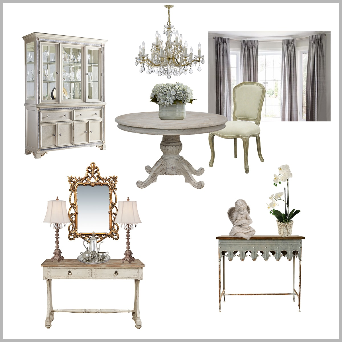 Reader design consultation | formal dining room plan | designthusiasm.com